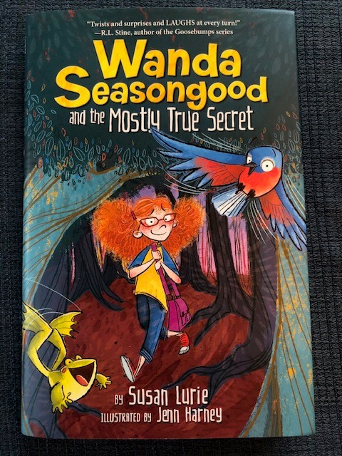 Goosebumps editor @SusanLurie2 has written a funny, fast-moving fantasy nlovel for middle grade readers. Highly recommended. Available Tuesday!