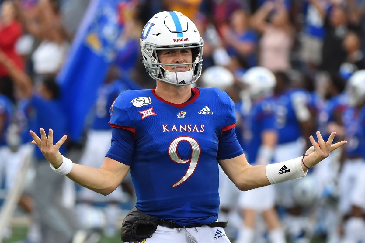 Extremely Blessed To Receive An Offer From The University Of Kansas ❤️💙#RockChalk