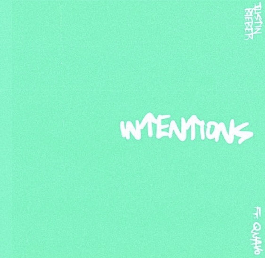 Intentions featuring Quavo is coming on Friday!! including the music video ✨