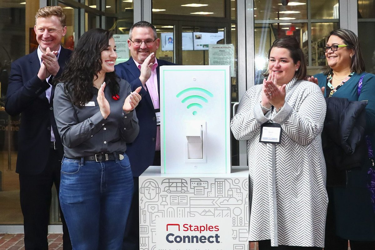 #StaplesConnect is here! We're thrilled to introduce a reimagined store designed to not just supply the modern hustle, but wholeheartedly support it.   Now open for exploration in the Greater Boston area. 💻🎙️💡https://t.co/LpSiB300yw https://t.co/j4hAXCjfp5