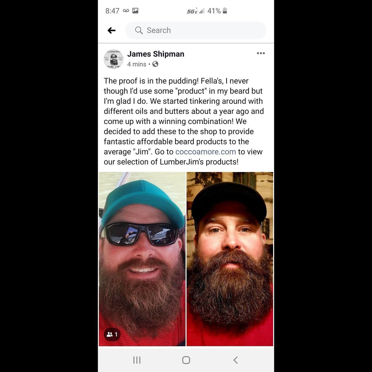 Love this!  #beards #bearded #beardo #beardwash #beardstyles #beardproducts #beardporn #beardseason #beard #beardsoap #LumberJim's #allnatural #handmade #insta #instagram #instagood #love #happy #nofilter #selfcare #selfcarematters #loveyourskin #naturalskincarepic.twitter.com/lMexAHzgXu