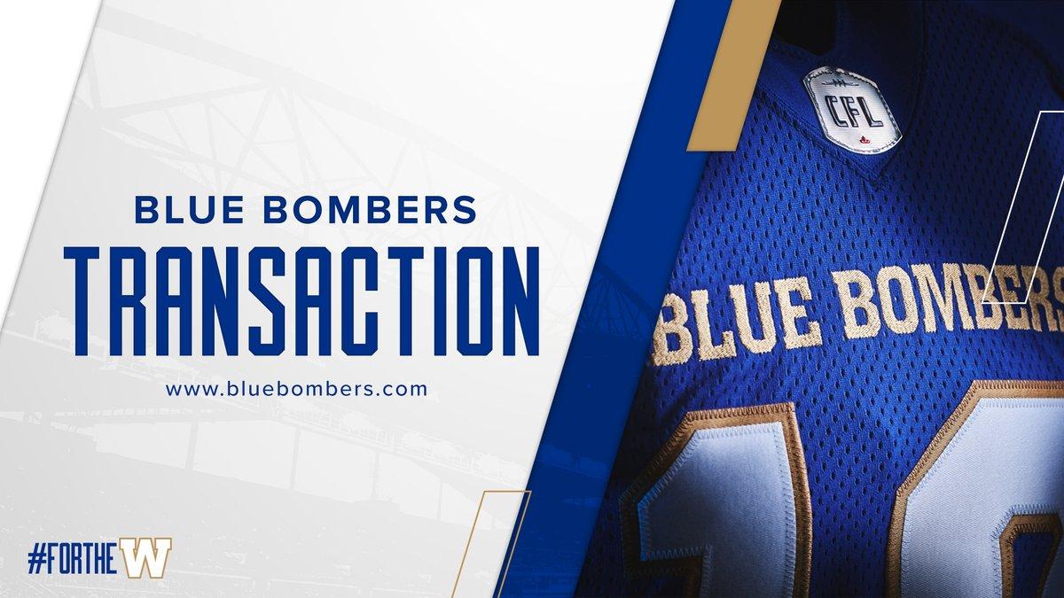 Winnipeg Blue Bombers @Wpg_BlueBombers