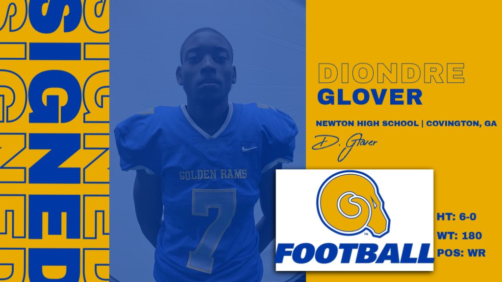 Welcome to the RAMily Diondre Glover!  #NSD20 #BanyBuilt20 https://t.co/hqCLUsMZyU
