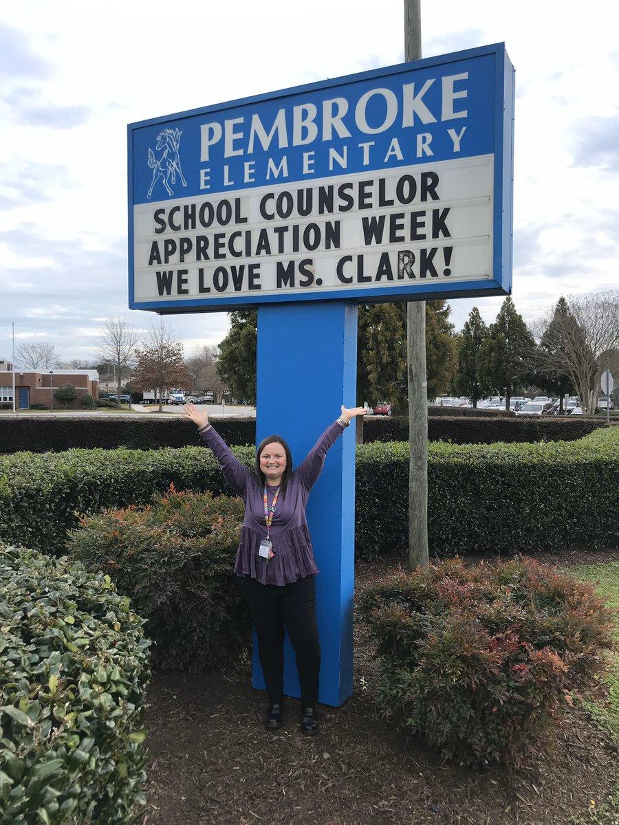 We ❤️ our school counselor! @lauren_clark6 @vbschools #pembrokepride