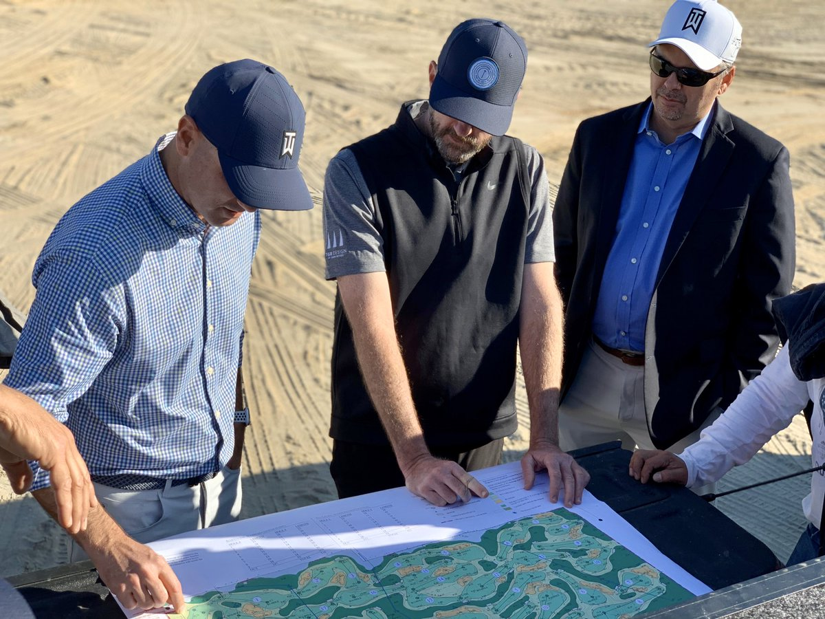 Fort Myers here we come! So excited to break ground on @tigerwoods' first ever putting course with PopStroke and @tgrdesignbytw. Stay tuned for construction and grand opening updates! https://t.co/uELs48DpYX