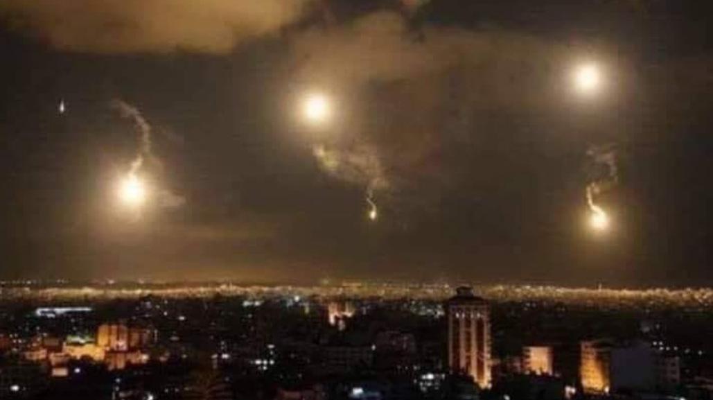 Израиль ударил по Сирии в момент посадки самолета с пассажирами