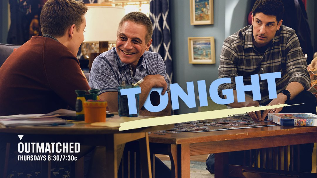 .@TonyDanza guest stars in #Outmatched TONIGHT! 🥳 Don't miss it at 8:30/7:30c on @FOXTV.