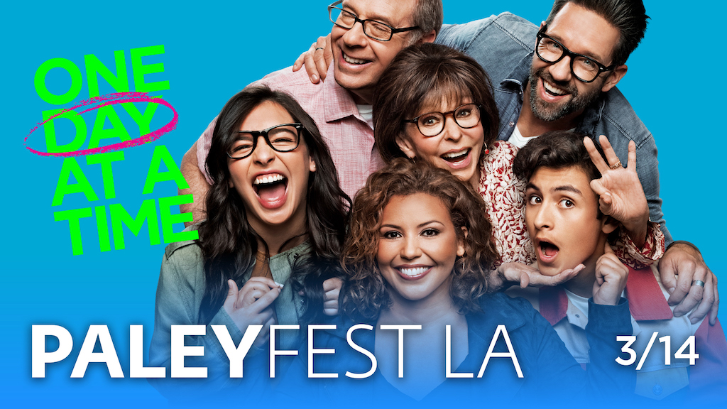 Join our fam at #PaleyFestLA on March 14 in Los Angeles! Get your tix now 👉 www1.ticketmaster.com/event/09005823…