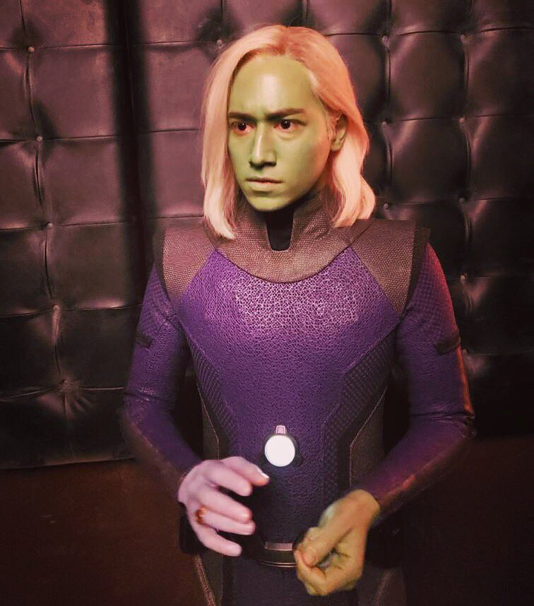 Time may change me, but I can't trace time. #supergirl #brainiac5