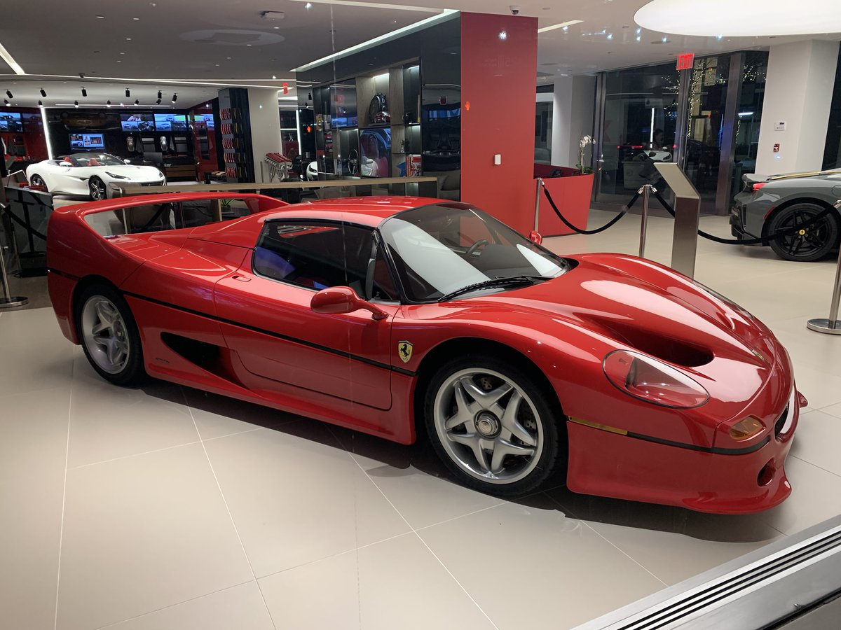 Thomas Thornton On Twitter Manhattan Ferrari With A Serious Showroom Right Now F50 488pista F8tribute