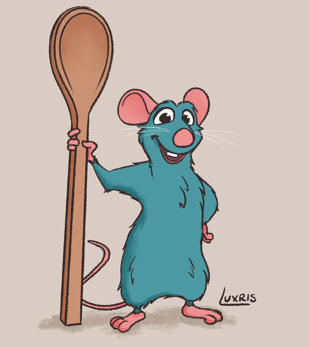 Lux On Twitter Wind Down Drawing For Today Little Chef Remy Ratatouille Disney Pixar Art Digitalart Illustration