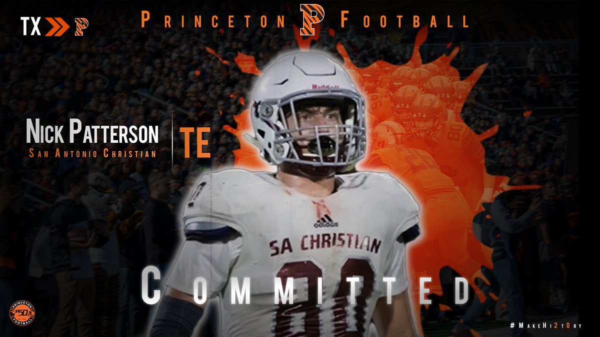 Michigan football recruiting 2020 TE Nick Patterson flips to Princeton