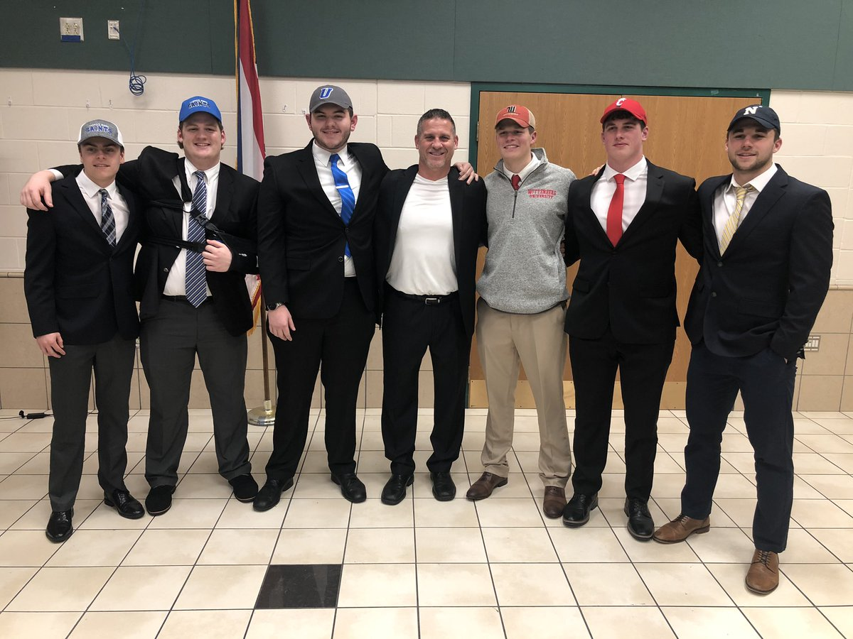 It was an ABSOLUTE GREAT day to be a COMET! 6 of our own decided to continue the Greatest Team Game known at the next level! Very Proud & Good Luck!! LGL!!!