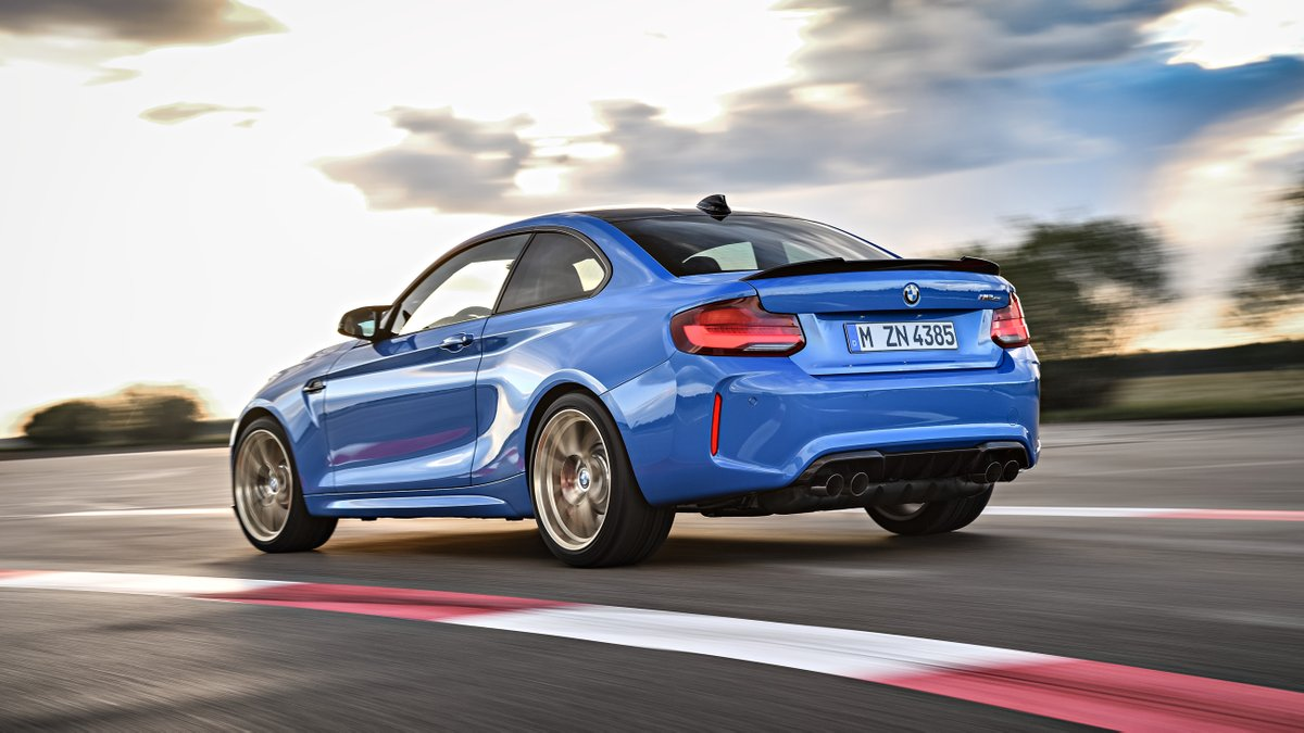 A limited special-edition model conquers the tracks.The first-ever @BMW M2 CS. #TheM2