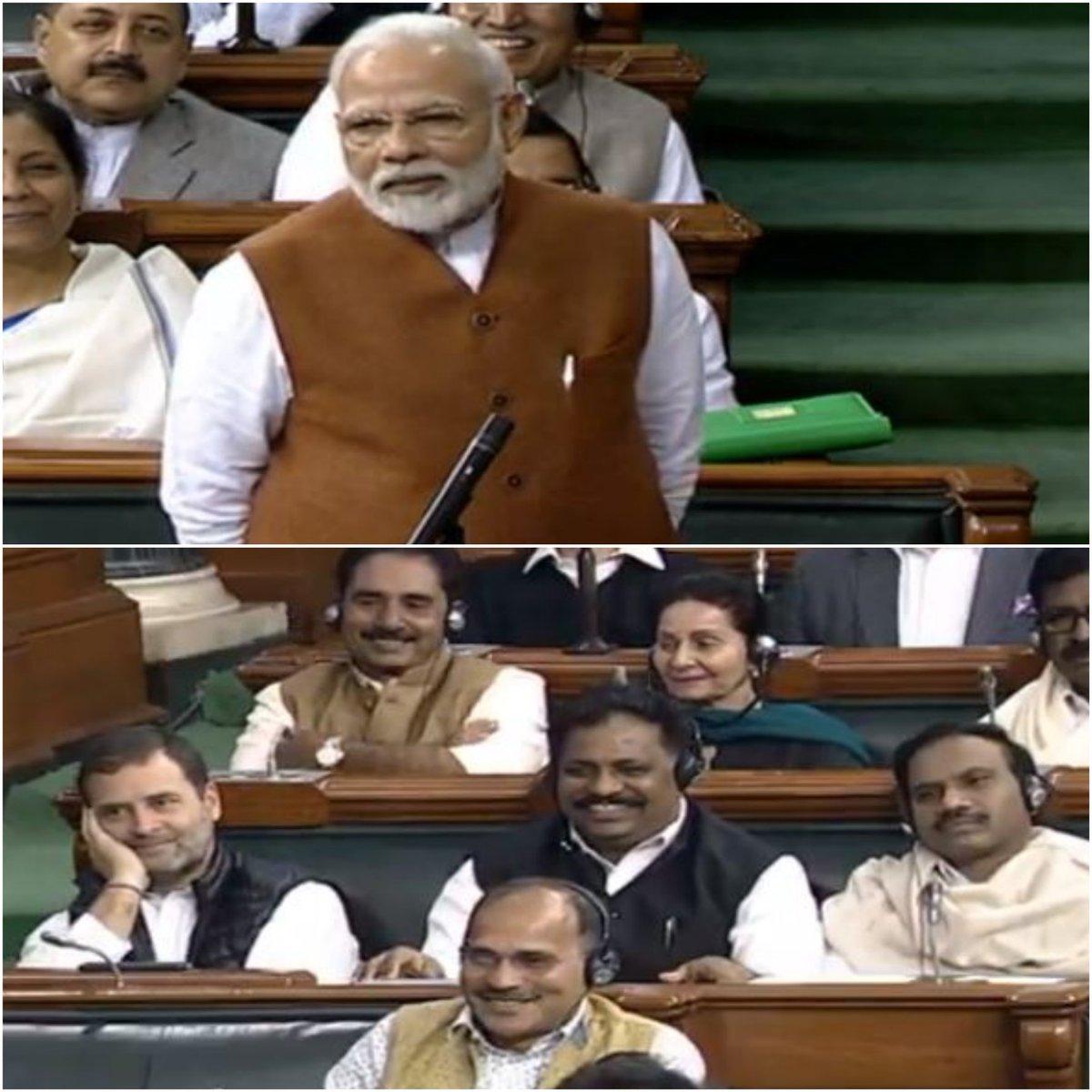 Pic(k) of the day  RT with your own captions!  #India #LokSabha #PrimeMinister #NarendraModi #Namo #BJP #Congress #RahulGandhi #IndiaPolitics pic.twitter.com/A1XO4mXqSz
