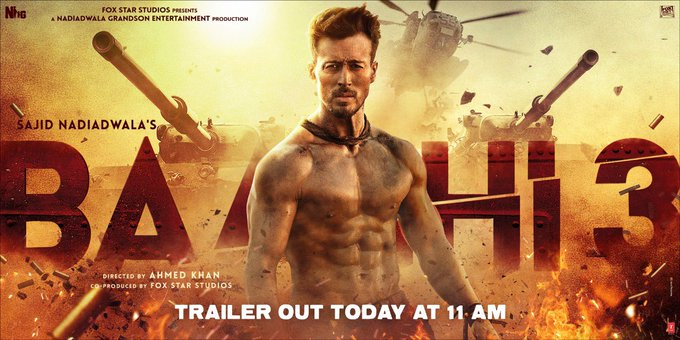 The wait would be over as the rebel is back to turn the tables. Witness the greatest battle in #Baaghi3
