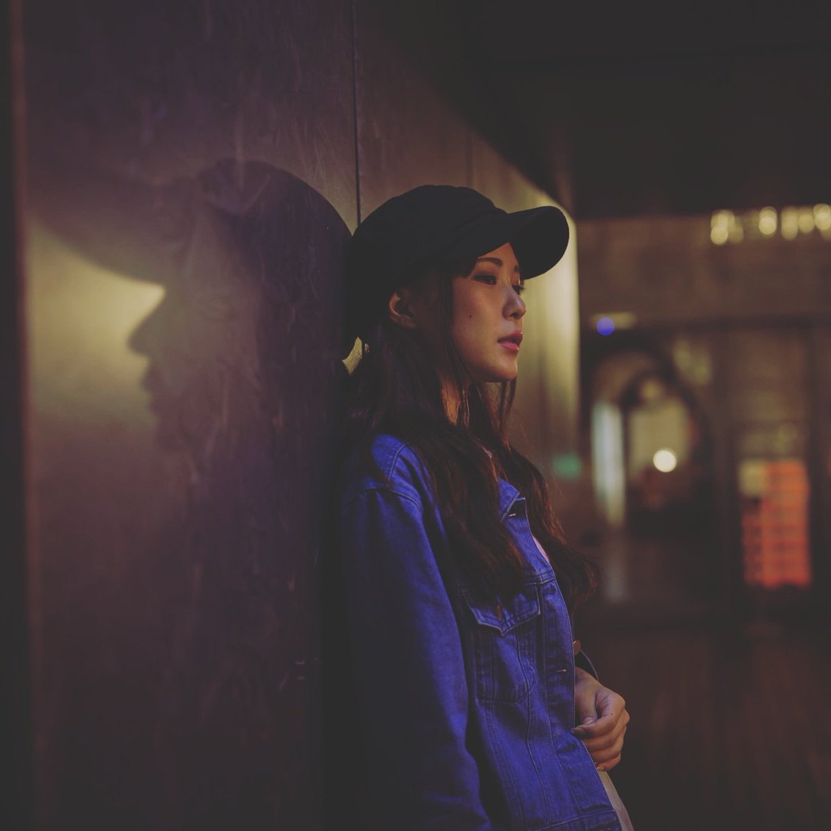 model : yuiyui loc  :  秋葉原  #ポートレート #portrait #nightportrait #夜撮影 #被写体募集pic.twitter.com/JtwQpSrytD
