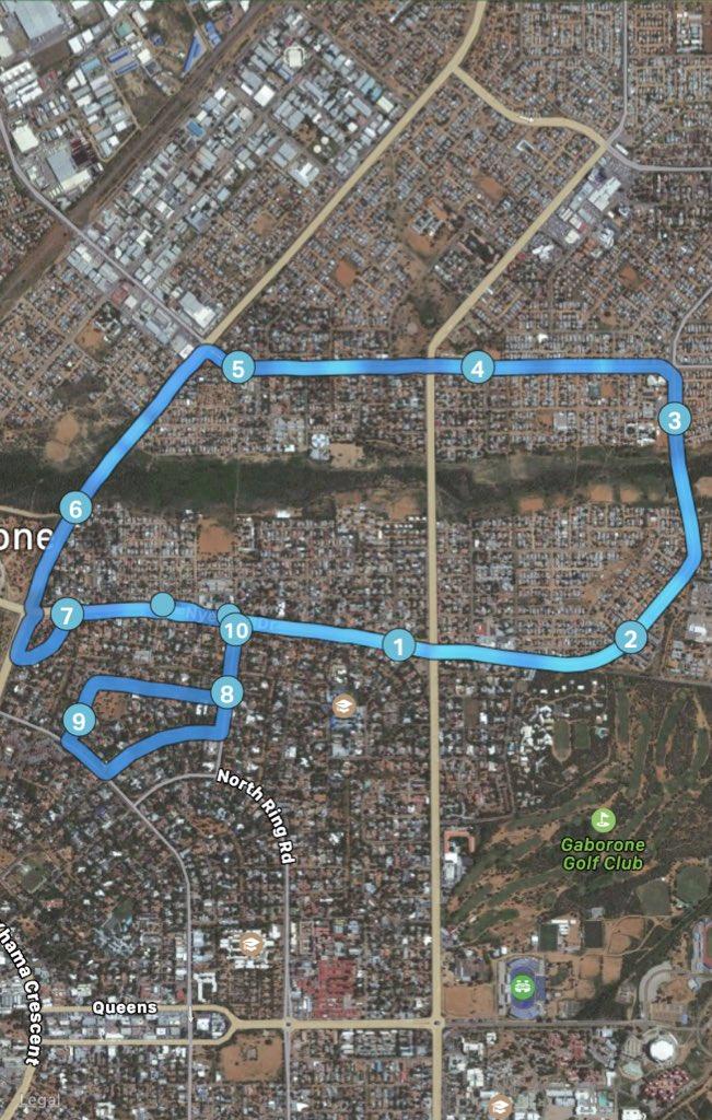 Make a mark around the city🏃🏾♂️ #letsrun #solorun #justdoit #nothingisimpossible #GabCity #webuiltthiscity #werunthis #healthylifestyle #cardio #twentytwenty #Gaborone #Botswana #fitness #nopainnogain