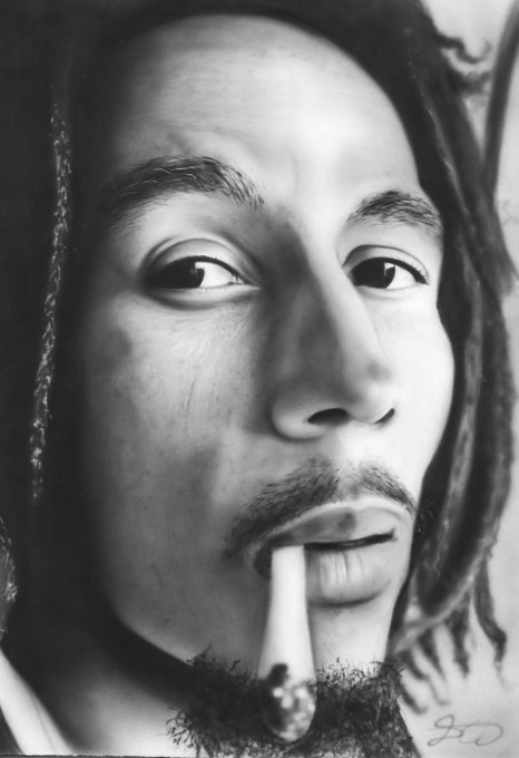 Happy 75th Birthday to legend of Reggea Bob Marley