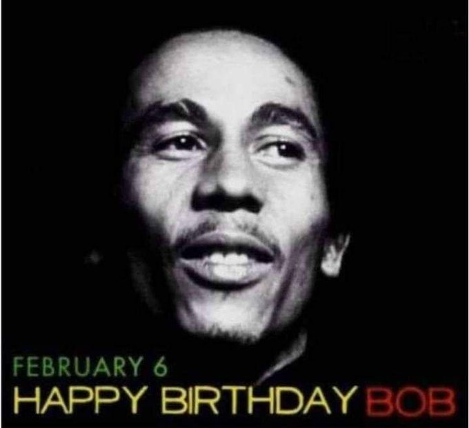 Happy birthday Bob Marley!!! You don\t listen to Reggae /Rap? I bet you have a bad taste for good music.