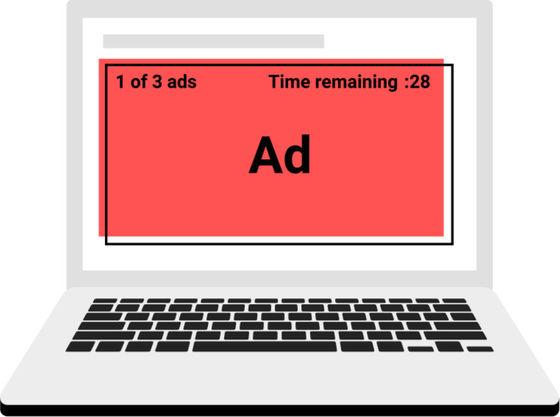 【8月から】「5秒後にスキップ」などの映像広告、Chromeがブロックへ<br><br><br>5秒以内に飛ばせない広告、映像中に挿入される広告、大型の広告が対象。YouTubeも例外ではないとした。