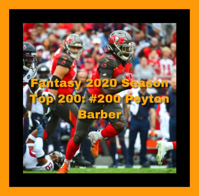 top 200 fantasy football players 2020