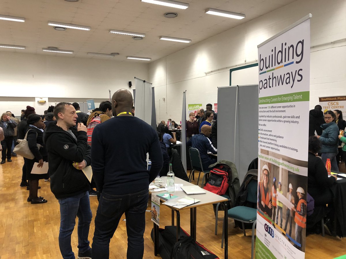 RT @jollijacktar It's a full house at the ⁦@LewishamCollege⁩ jobs fair in partnership with ⁦⁦@DWP⁩   - ⁦@BldngPathways⁩