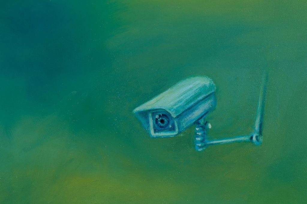 "Detail of ""The Conversation"" 2019 oil on canvas 68.3 x 88.5 cm  original available #art #artcollector #artist #artwork #contemporaryart #colors #painting #mkanisko #surrealart #surrealism #technologyart pic.twitter.com/FxyW2RkCD7"