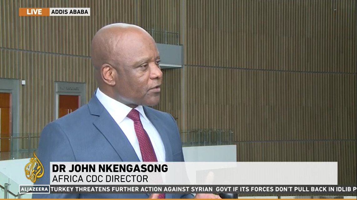 """Africa CDC en Twitter: """"AFRICAN PUBLIC HEALTH STRATEGY FOCUSES ON RAPID  DETECTION & CONTAINMENT OF CORONAVIRUS. Africa should be very more than  concerned because of the volume of trafic between China &"""