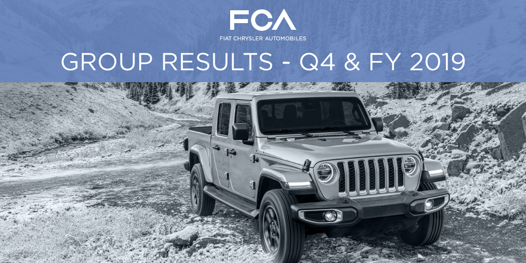 Today $FCA/$FCAU reported strong full-year 2019 results. Record North America and improved Latin America results led to Adjusted EBIT margin reaching 6.2%. Full details can be found here: http://bit.ly/36ZnUCp