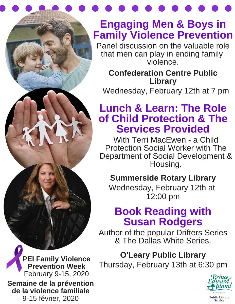 Join us next week as we mark Family Violence Prevention Week.