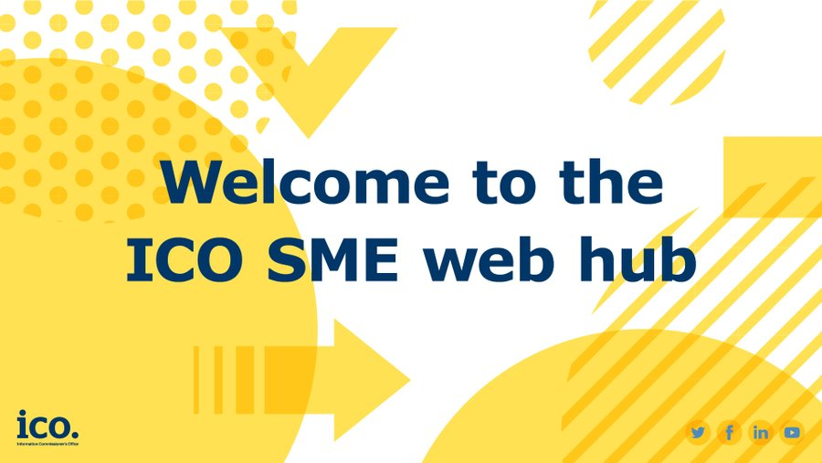 Our SME web hub is a one stop shop to help businesses understand their data protection obligations. There are a number of tools, checklists, hot topics and advice. #ServicesWeek ow.ly/s6aD50yeaS4