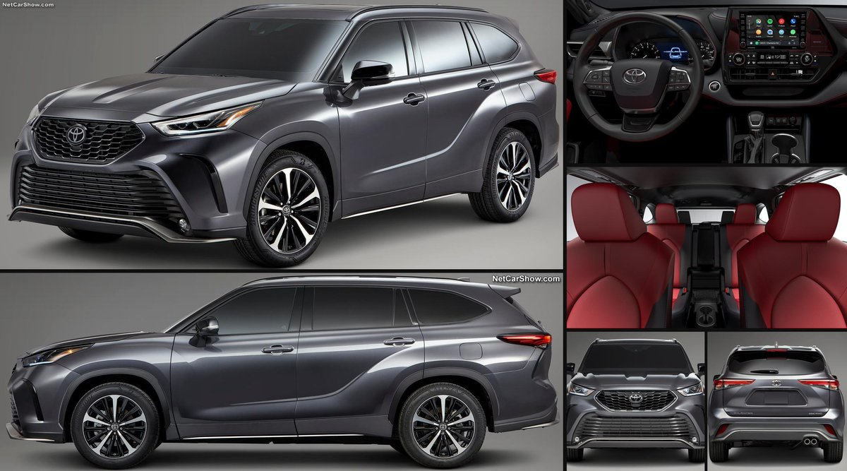 2021 Toyota Highlander Price, Design and Review