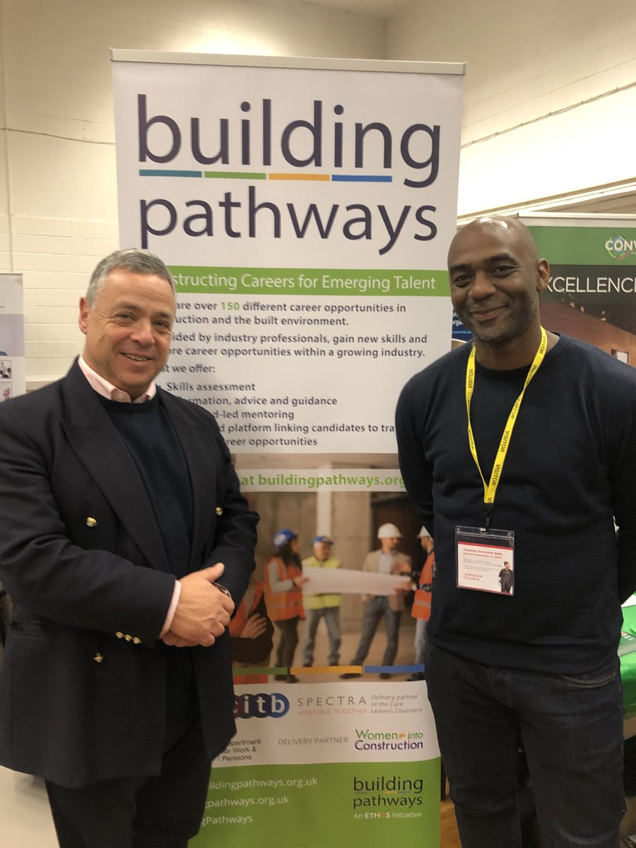 RT @jollijacktar The ⁦@BldngPathways⁩ team at the ⁦@LewishamCollege⁩ Jobs Fair with ⁦@DWP⁩