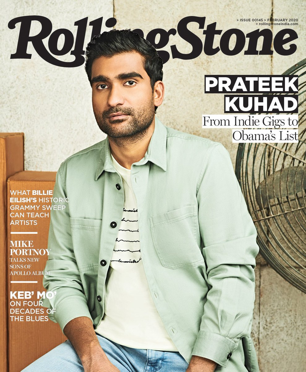 Our February cover star is New Delhi singer-songwriter @prateekkuhad who opens up about loving his haters, his road to global recognition and more  Photo: Kunal Gupta Art Director: Tanvi Shah Fashion Editor: Neelangana Vasudeva Hair and Makeup: @BiguineIndia Wardrobe: @celio