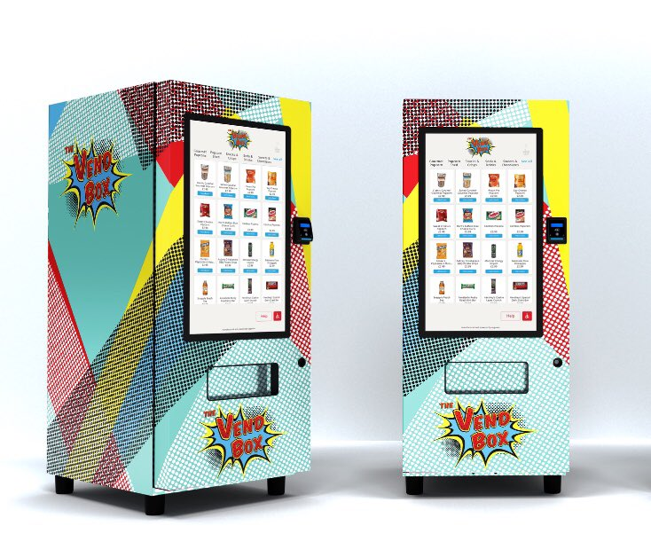 Wicked clever Vend Box machines! #icondriven #thevendbox #vendbox #thevendboxlife #iot #internetofthings #automation #techtrends #innovation #newtechnology #techworld #technologytrends #technologyrocks #technologyrules #techies #productdevelipment #digitalization #futureofretailpic.twitter.com/b6UXXYF7Fj