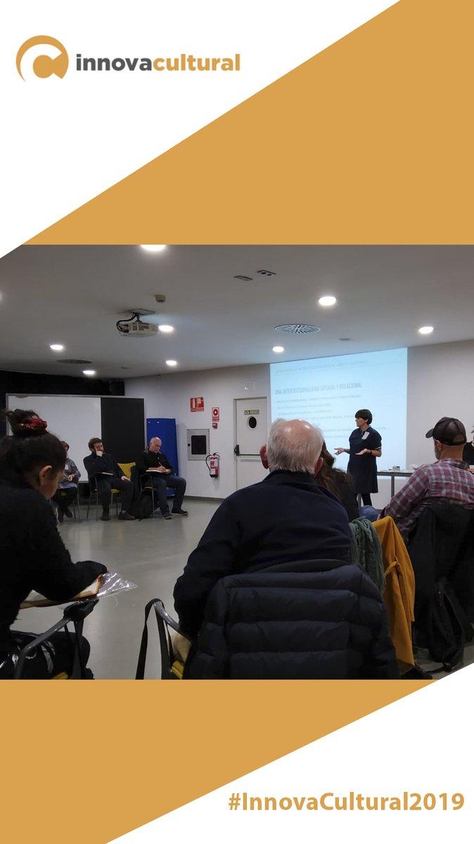 Muy interesante conocer los proyectos de #innovacultural2019 , agentes del ecosistema cultural de #Navarra y abrir interrogantes para re-pensar los proyectos culturales desde la interseccionalidad. Muchas gracias!