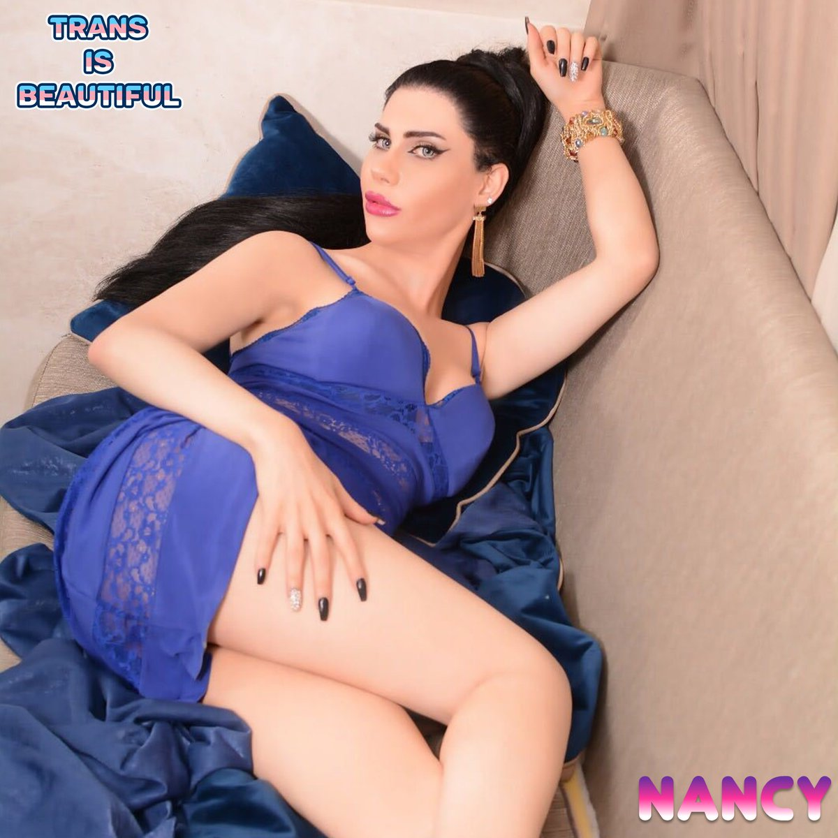 #TransIsBeautiful 🦋 A Hot & Beautiful Moroccan #TransLady — Nancy 🧜♀️ #transsingle #transwoman #femme #tsgirl #transproud #nancy