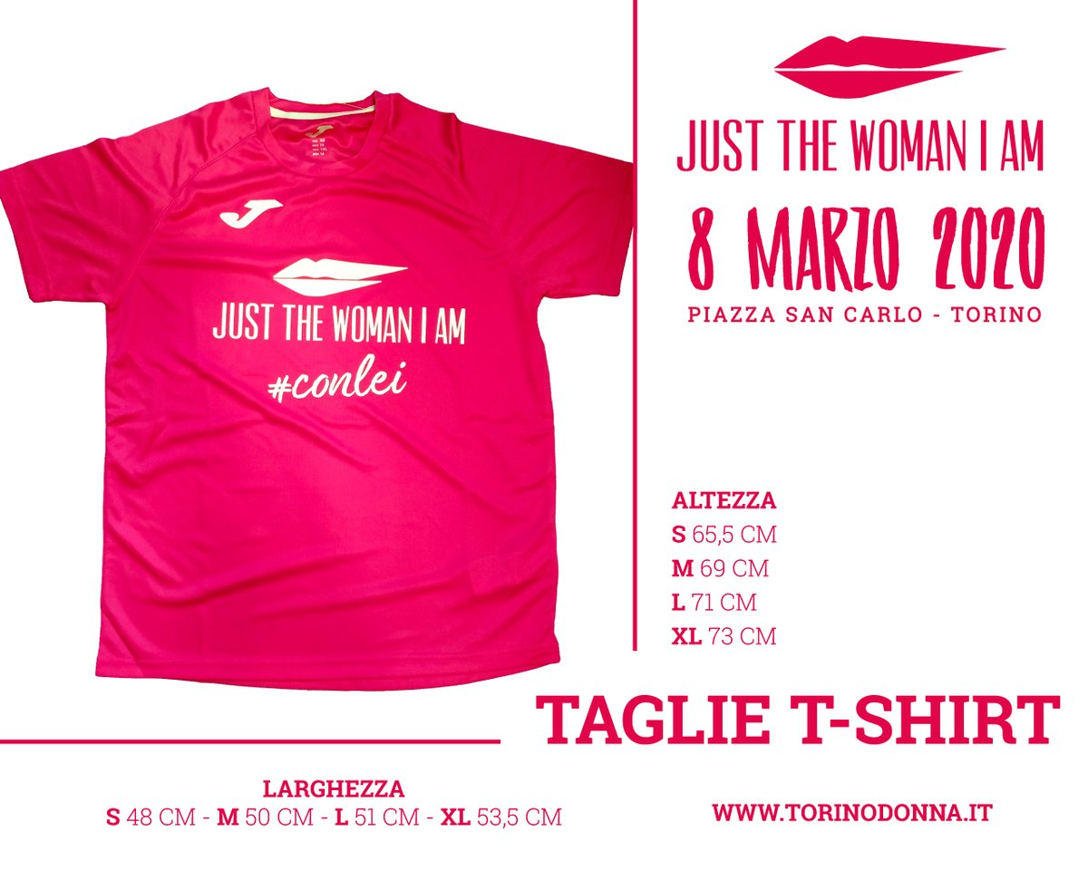 Presentata la maglia di #JUSTTHEWOMANIAM 2020 realizzata da @JomaItalia  Scegli la Tua taglia e corri a iscriverti! https://bit.ly/2GX9GXR #eTUchiporti #conLEIpic.twitter.com/CGrd8qojPW