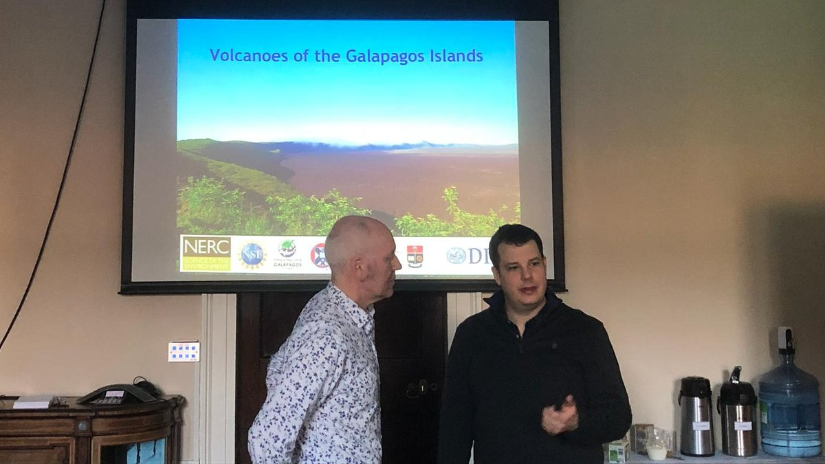 test Twitter Media - Discussion of recent volcanic activity at the Fernandina volcano, Galápagos Islands this morning in @DIAS_Dublin with @AndyFBell  #DIASdiscovers https://t.co/iN0dZc55Y6