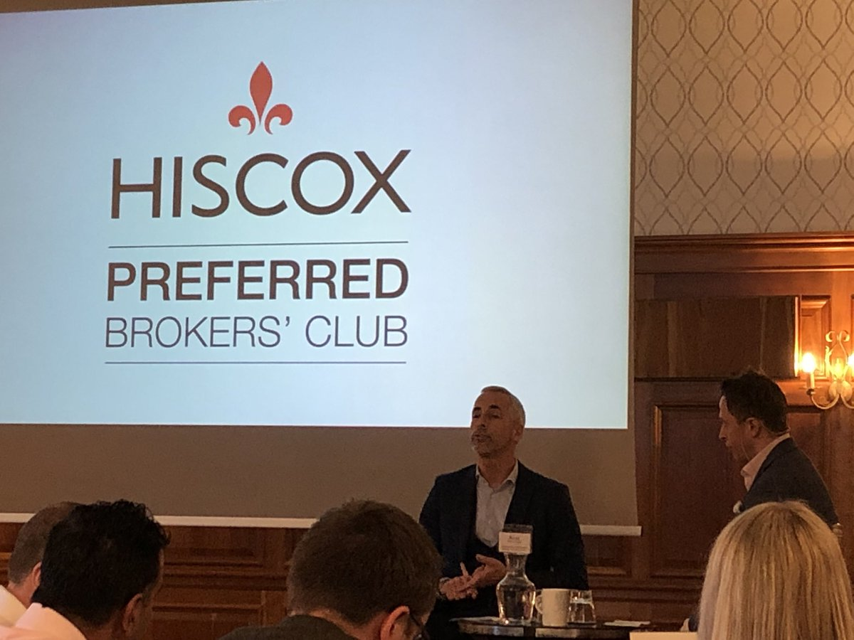 @RussShaw1 from @TechLondonAdv talking to brokers at the @HiscoxUK Preferred Broker summit about what is happening in the tech ecosystem! https://t.co/5a8jBP3IJQ