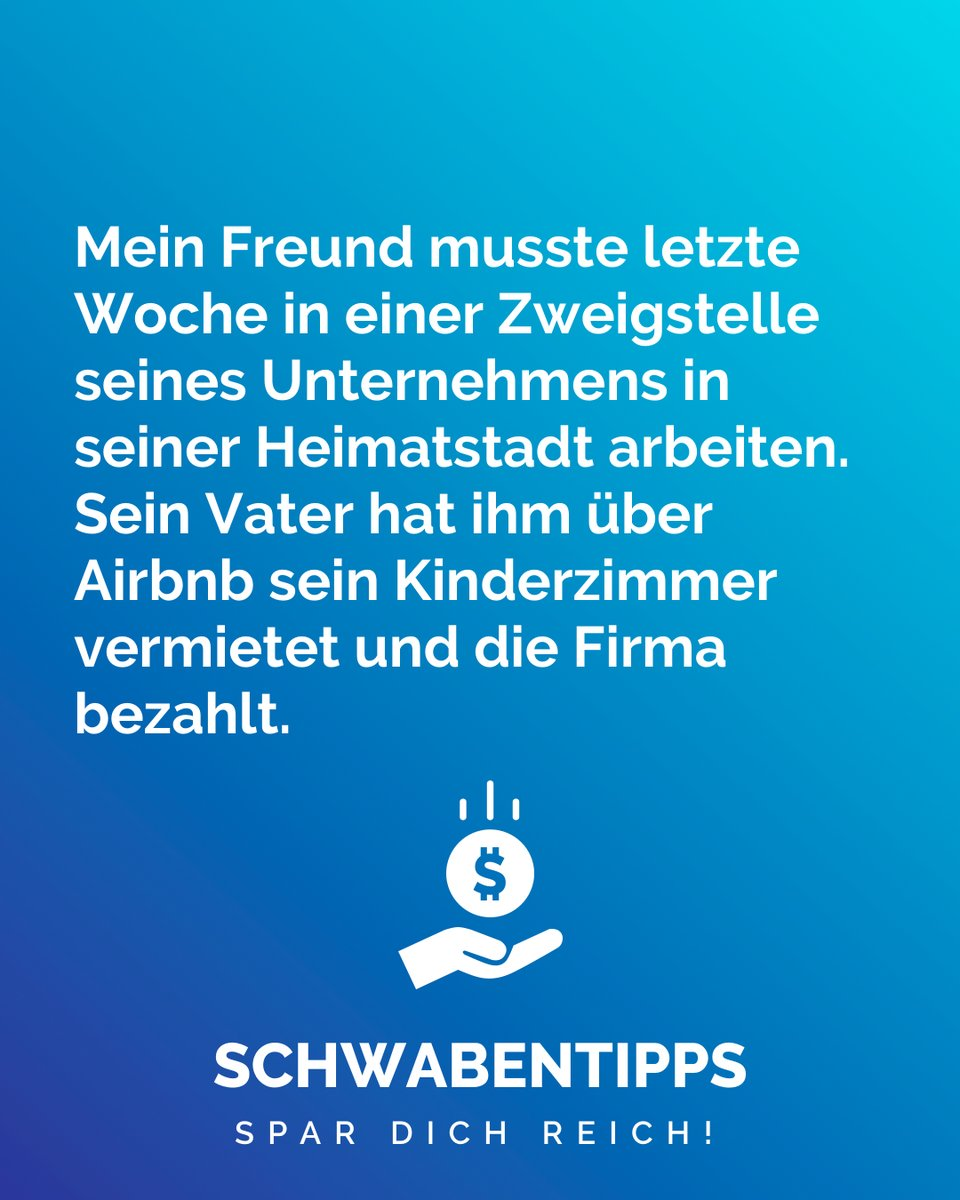 Kluger Mann #schwabentipps #schwabentipp #spardichreich #sparen #jodel #jodeldeutschland #sparsam #schwabe #geizkragen #sparfuchs #spartipps #spartipp #witzig #bestofjodel #sprüche #spruch #genaumeinhumor #lustig #lustigesprüche #witzigesprüche #spruchdestagespic.twitter.com/gjFwh1Vimc