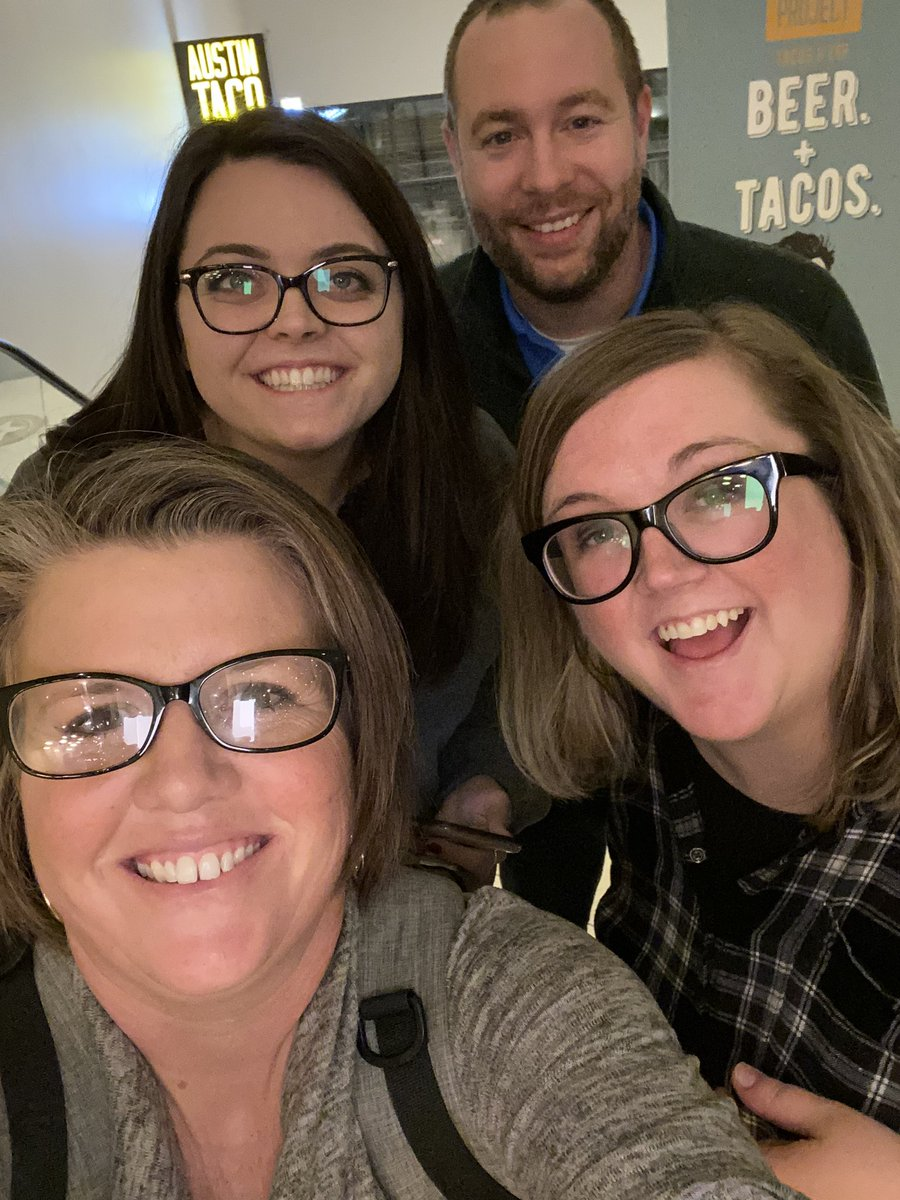 So much fun hanging out with these guys last night! So thankful for my #pln connections! #TCEA #TCEA2020 #TCEA20