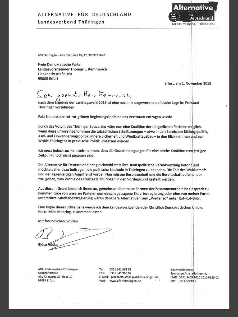 Auflösung des Landtags