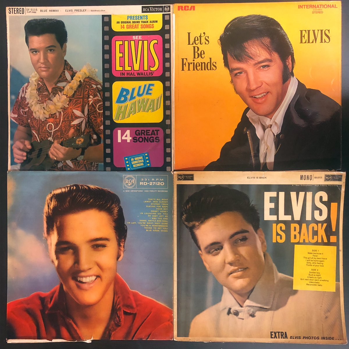 Just got these beauties from the king of rock and roll in. All hail! . . . . . #justin #elvis #elvispresley #elvisthepelvis #theking #supportlocal #localbusiness #musicshop #liverpool #digatthedock #popup #albertdock #recordoftheday #vinyl #record #recordstore #recordshoppic.twitter.com/1d9yCqlyL9