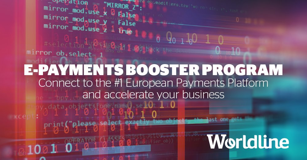 With the #Worldline #ePaymentsBoosterProgram, you can test right away #Worldline's #eCommerce #payments #APIs and consult the documentation. https://okt.to/hv2DUP