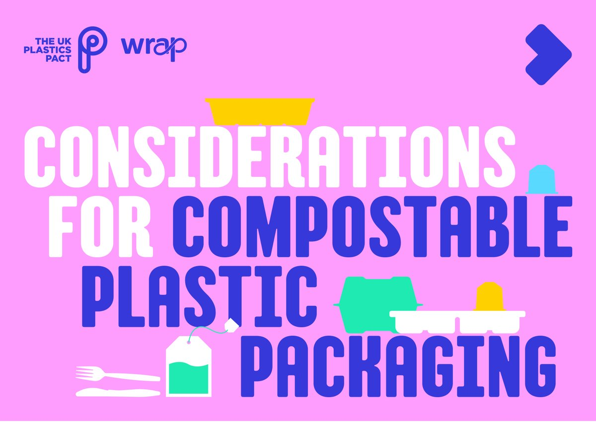 *New* guidance on compostable packaging @FreeMedway @FreeHerne @plasticfreefav