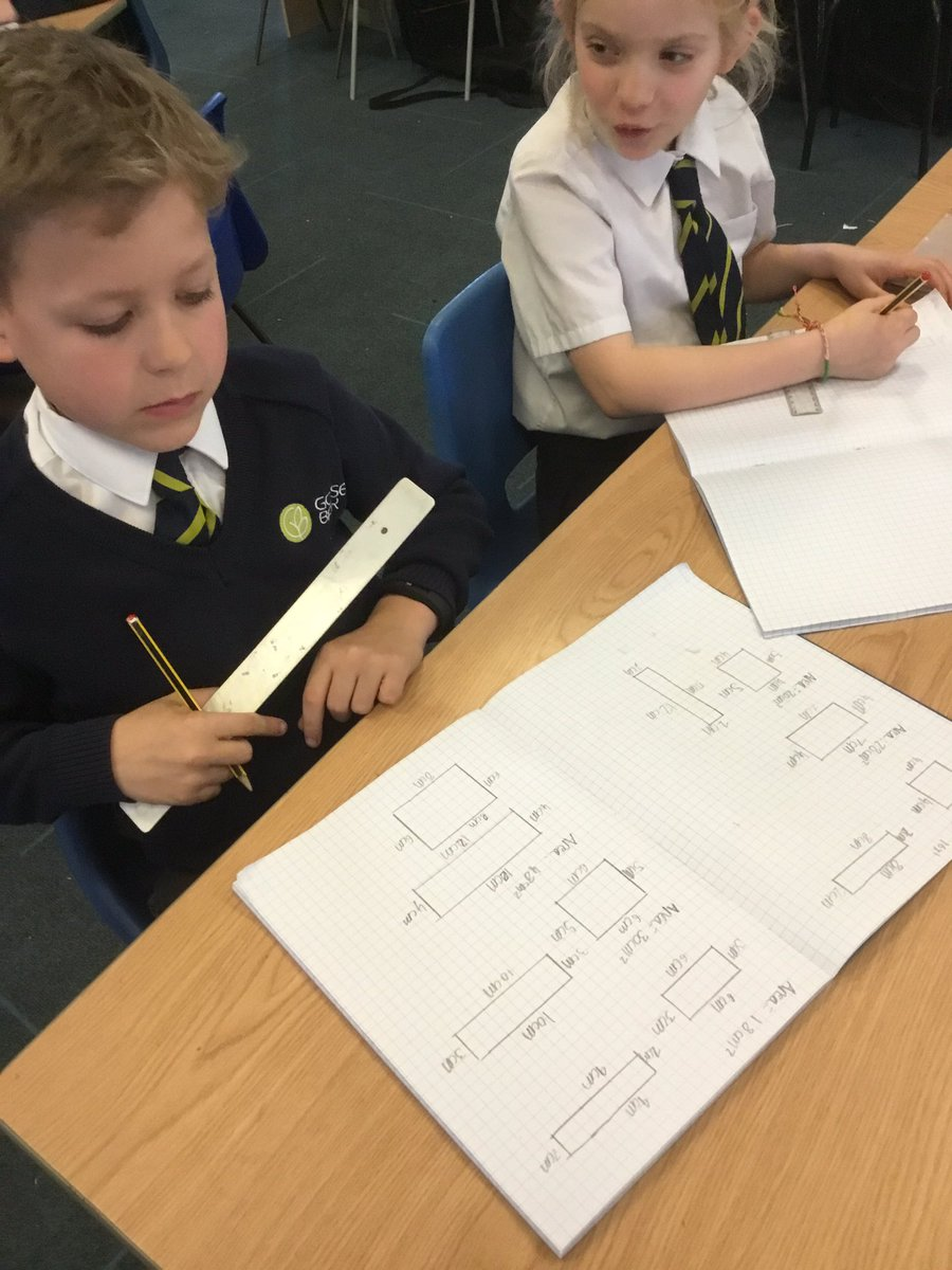 test Twitter Media - We have been using our factor pair knowledge to work out the length of sides of shapes with specific areas. #gorseymaths https://t.co/Pc19OwOViE