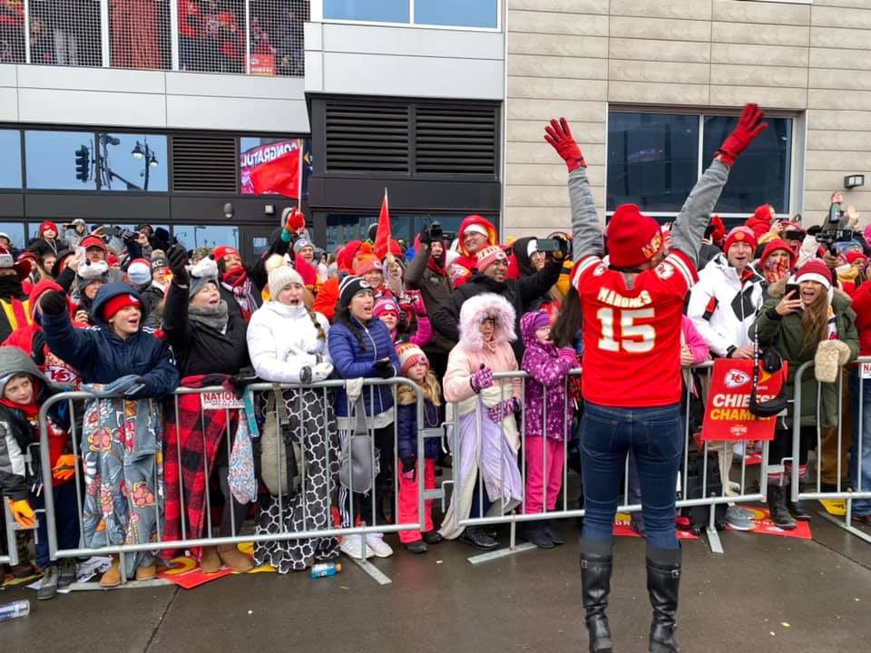 Congratulations, Kansas City! Yesterday was a celebration fit for champions!