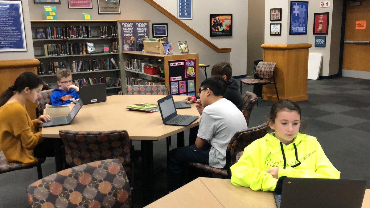 CogAT testing in full effect for 6th graders! @BridgetownMS @OHLSD #OHBMSBest